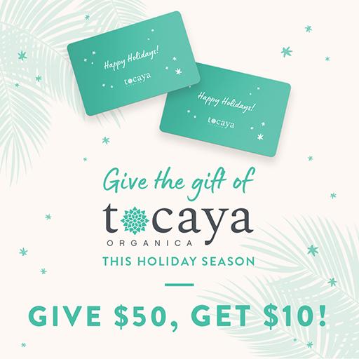 This holiday season Give $50, Get $10!